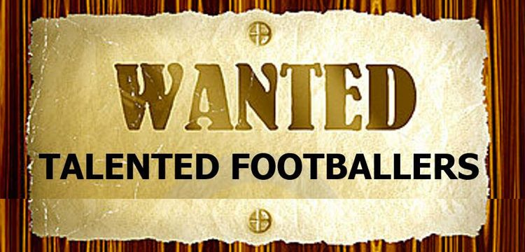 Wanted girl footballers